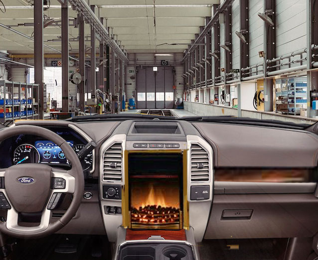 Hot Enough To Slow Cook A Muskrat Says Ford Engineer